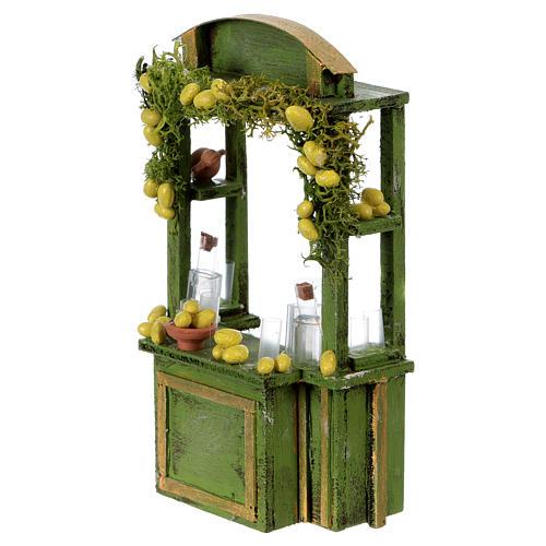 Lemonade stand for Neapolitan Nativity Scene 15 cm tall 2