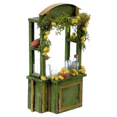 Lemonade stand for Neapolitan Nativity Scene 15 cm tall 3