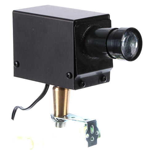 LED projector for Nativity scene 1