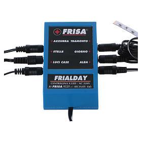 Frialday circuito de control led belén + kit luces amanecer día puesta de sol noche s1