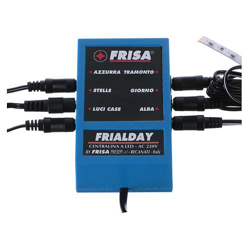 Frialday circuito de control led belén + kit luces amanecer día puesta de sol noche 1
