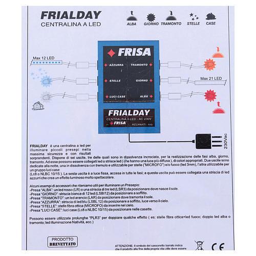Frialday circuito de control led belén + kit luces amanecer día puesta de sol noche 4