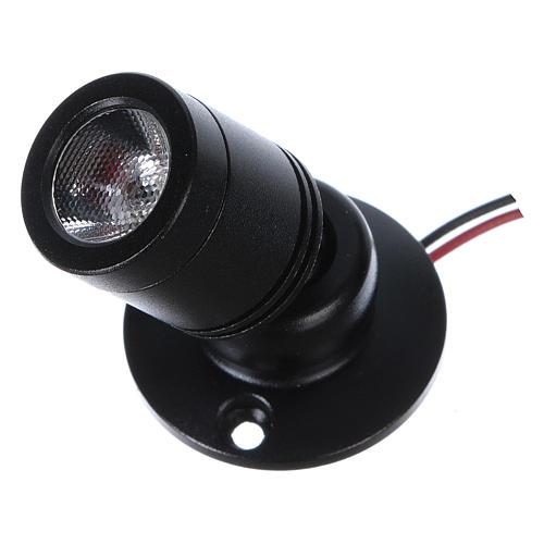 Mini spot LED light, directable for Nativity scene 2