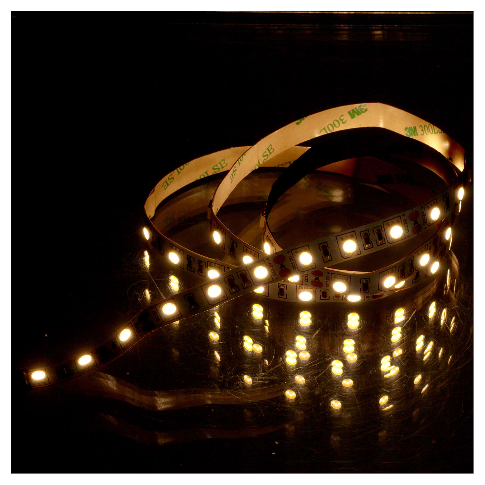 60 LED Striplight warm white 12V 10 cm for nativities 4