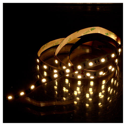60 LED Striplight warm white 12V 10 cm for nativities 2