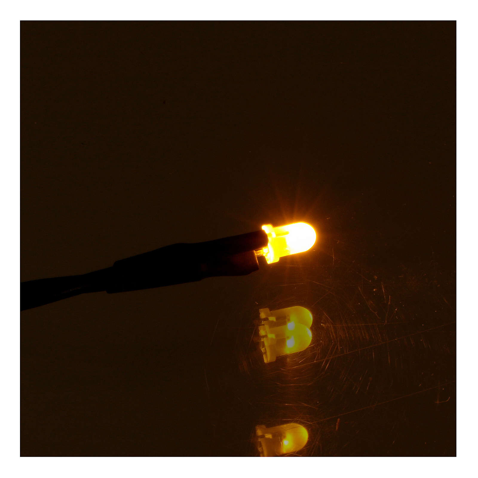 Led 3 mm luce gialla presepe 4