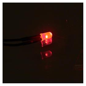 Led 5 mm luce rossa presepe s2