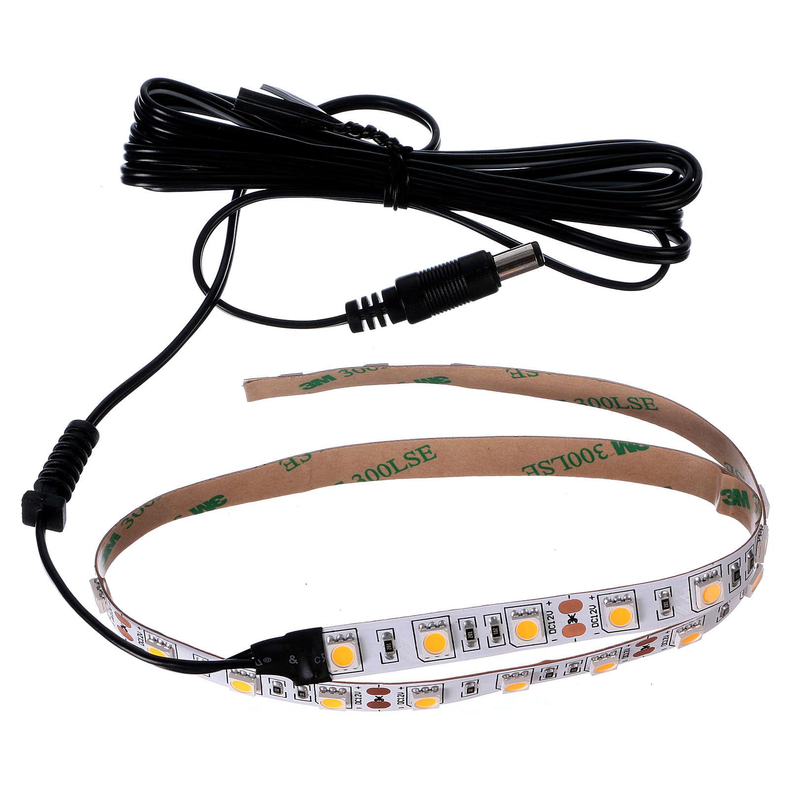 30 LED Light Strip warm white 12V 50 cm for Nativities 4