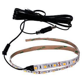 30 LED Light Strip warm white 12V 50 cm for Nativities s3