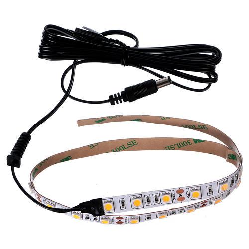 30 LED Light Strip warm white 12V 50 cm for Nativities 3