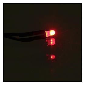 Led 3 mm luce rossa presepe s2