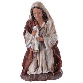Virgin Mary in resin for Nativity Scene 60 cm s1