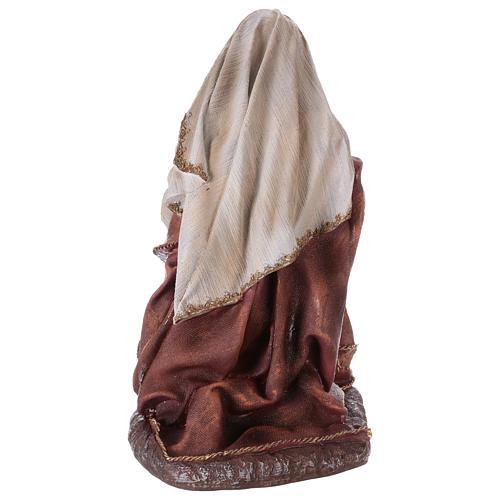 Virgin Mary statue for a 60 cm Nativity Scene, resin 5