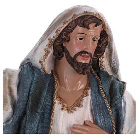 St. Joseph in resin 60 cm s2