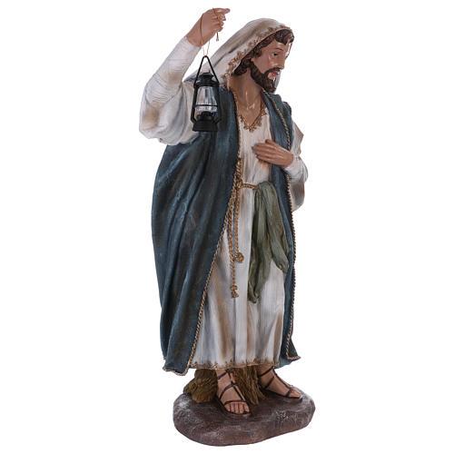 St. Joseph in resin 60 cm 4