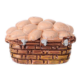 Egg basket in resin for 10 cm Nativity scene Moranduzzo s2