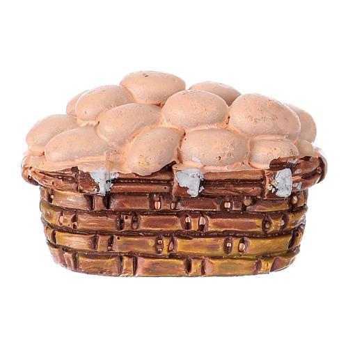 Cesta huevos belén 10 cm Moranduzzo 2
