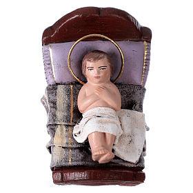 Natività 6 soggetti terracotta 14 cm stile Spagnolo s3