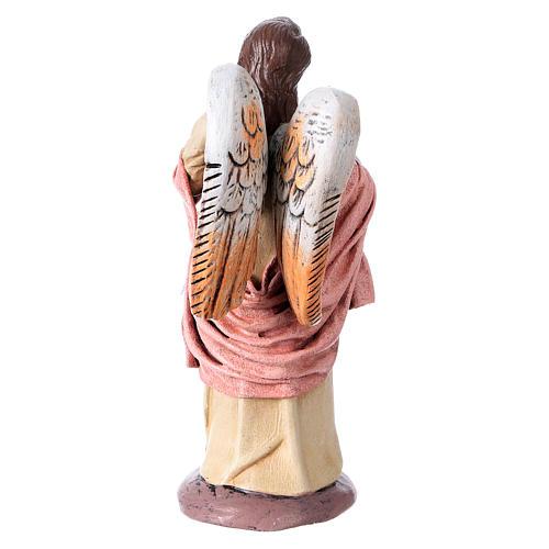 Natività presepe 14 cm terracotta stoffa 6 soggetti stile Spagnolo 8