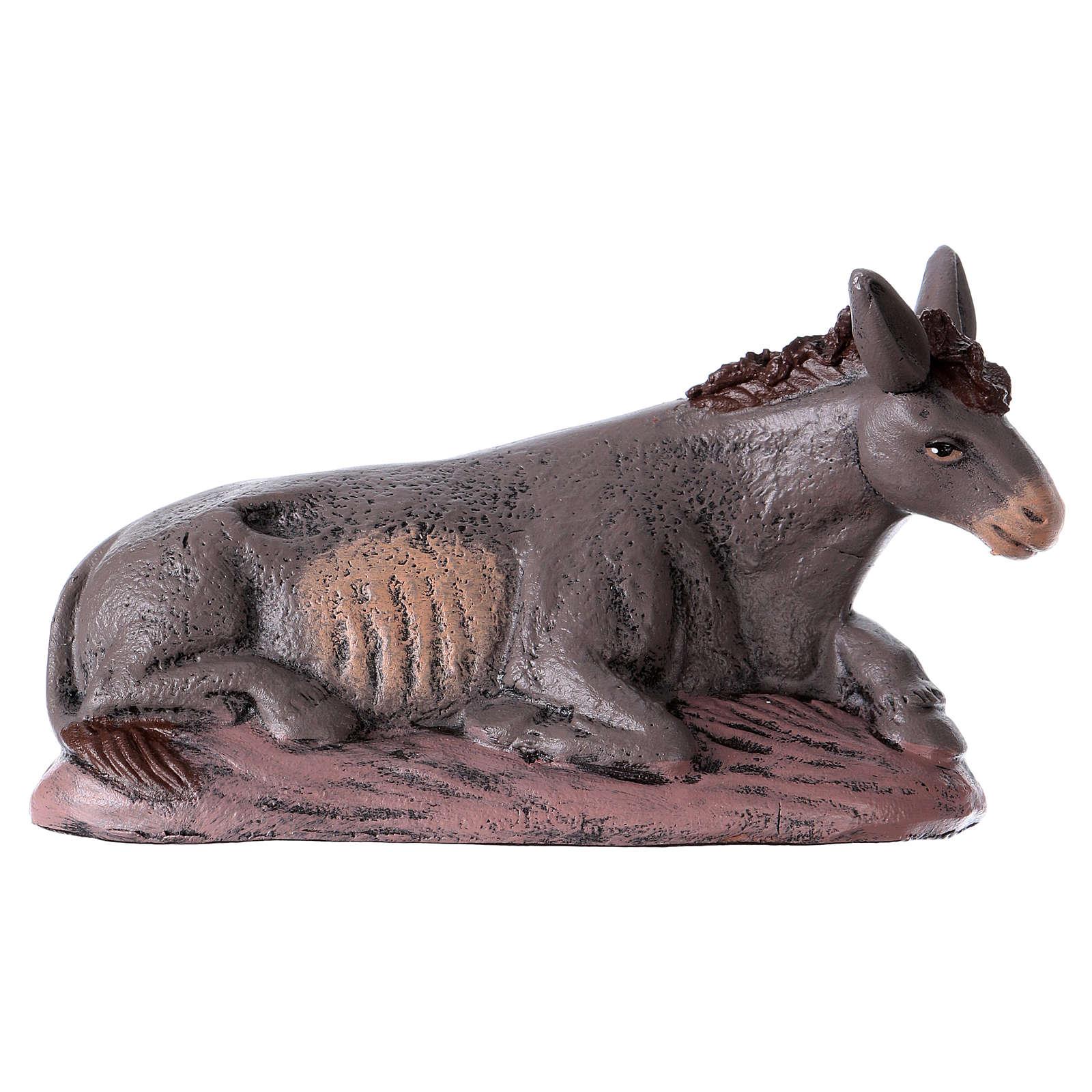 Scena natività presepe 14 cm 6 soggetti terracotta stile Spagnolo 3