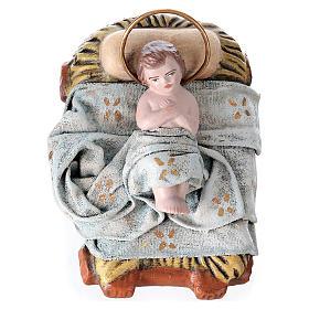 Natività in terracotta 14 cm 6 soggetti stile Spagnolo s3