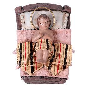 Natività 14 cm 6 soggetti in terracotta stile Spagnolo s3