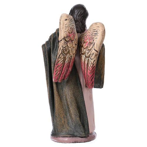 Natività 14 cm 6 soggetti in terracotta stile Spagnolo 7