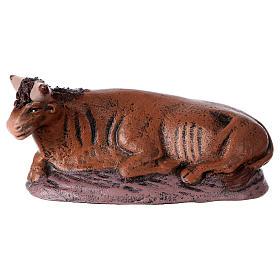 Natività 6 soggetti 14 cm in terracotta stile Spagnolo s5