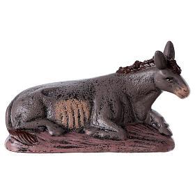Natività 6 soggetti 14 cm in terracotta stile Spagnolo s6