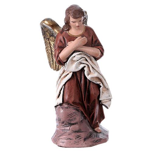 Natività 6 soggetti 14 cm in terracotta stile Spagnolo 4