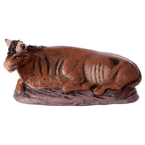 Natività 6 soggetti 14 cm in terracotta stile Spagnolo 5