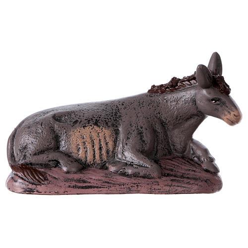 Natività 6 soggetti 14 cm in terracotta stile Spagnolo 6