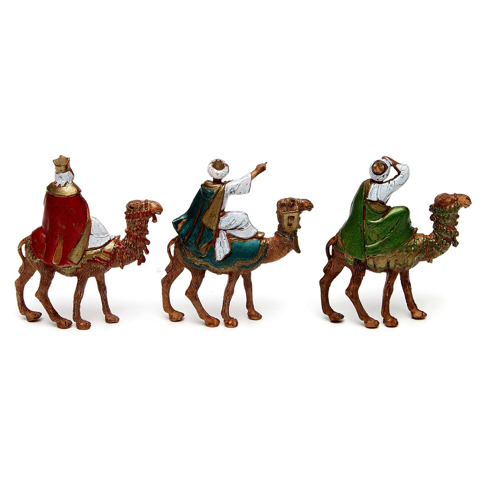 Tre Re Magi su cammello 6 cm Moranduzzo 4