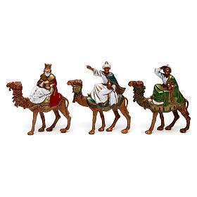 Tre Re Magi su cammello 6 cm Moranduzzo s1