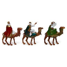 Tre Re Magi su cammello 6 cm Moranduzzo s2