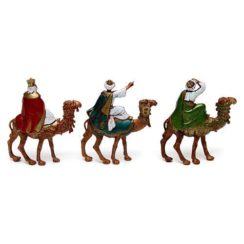 Tre Re Magi su cammello 6 cm Moranduzzo 2