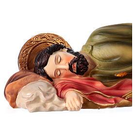 San Giuseppe dormiente 30 cm statua resina