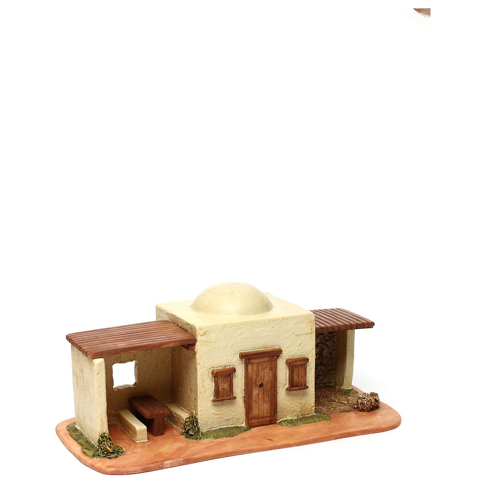 STOCK Locanda per villaggio Fontanini cm 6,5 per presepe 4