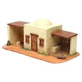 STOCK Locanda per villaggio Fontanini cm 6,5 per presepe s2