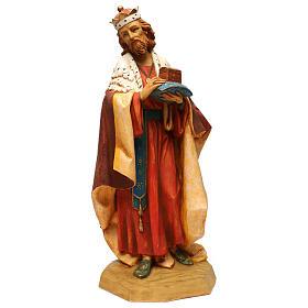 STOCK Rei Mago resina para Presépio Fontanini com figuras de altura média 65 cm s1
