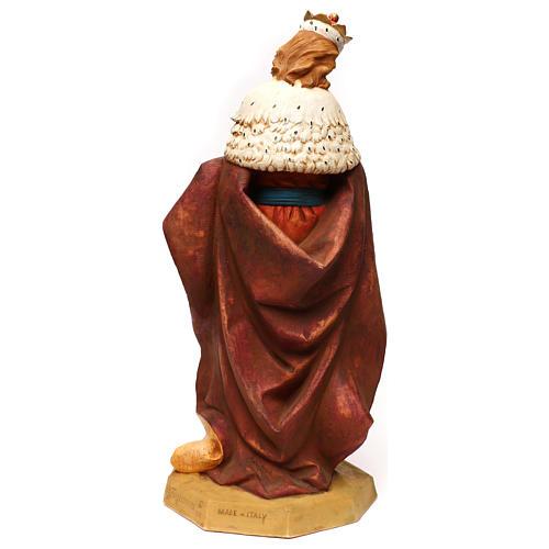 STOCK Rei Mago resina para Presépio Fontanini com figuras de altura média 65 cm 5