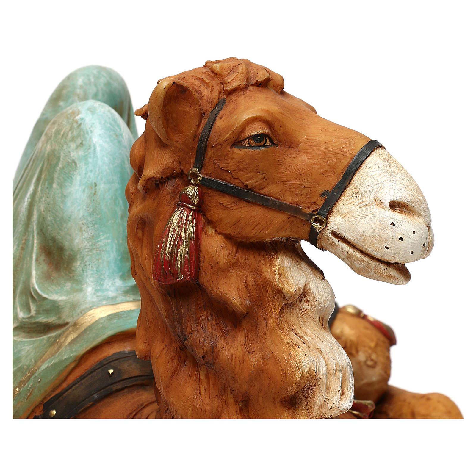 STOCK Wielbłąd siedzący do szopki 52 cm z żywicy Fontanini 4