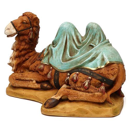 STOCK Wielbłąd siedzący do szopki 52 cm z żywicy Fontanini 3