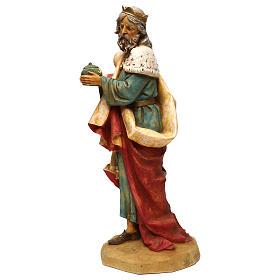 STOCK Rei Mago Melchior para Presépio Fontanini com figuras de altura média 52 cm s2