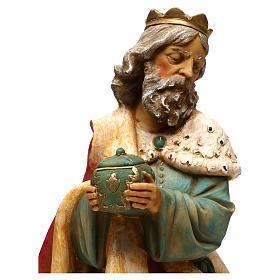 STOCK Rei Mago Melchior para Presépio Fontanini com figuras de altura média 52 cm s5