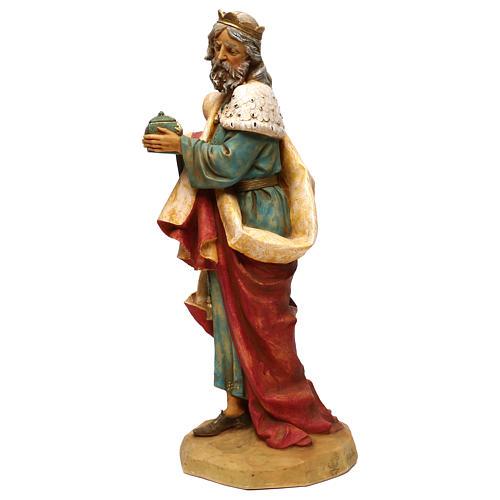 STOCK Rei Mago Melchior para Presépio Fontanini com figuras de altura média 52 cm 2