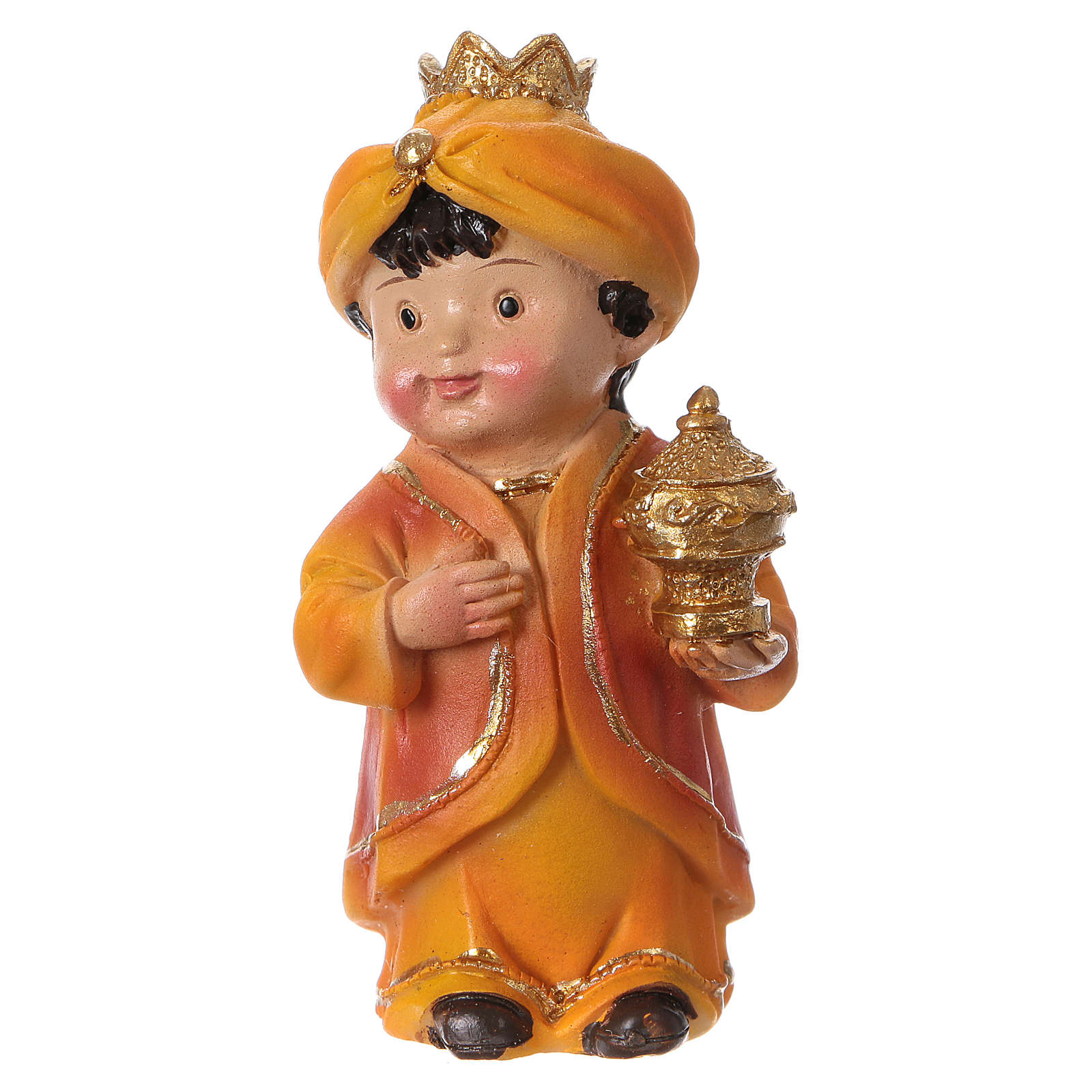 Estatuas Reyes Magos línea niño 9 cm 3