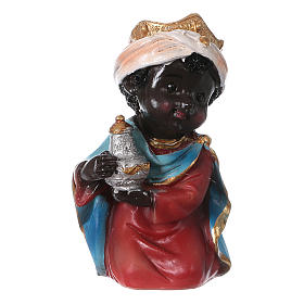 Estatuas Reyes Magos línea niño 9 cm s2