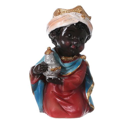 Estatuas Reyes Magos línea niño 9 cm 2