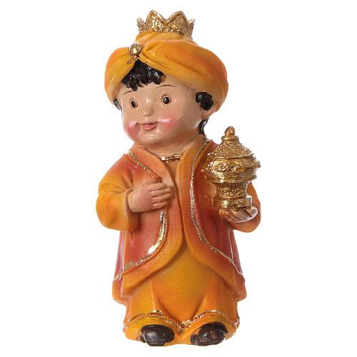 Estatuas Reyes Magos línea niño 9 cm 4